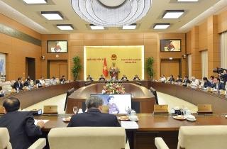 Ủy ban Thường vụ Quốc hội cho ý kiến về một số nội dung sẽ trình tại Kỳ họp thứ 10