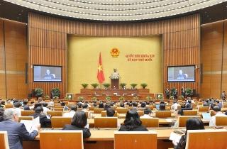 Hôm nay, Quốc hội biểu quyết Nghị quyết về kế hoạch phát triển kinh tế-xã hội