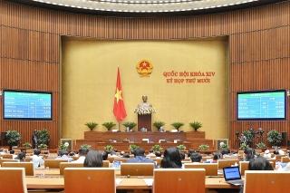 Quốc hội thông qua một số luật và nghị quyết