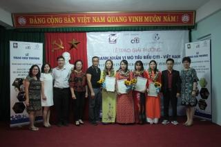 Hai thành viên của TYM đạt giải Doanh nhân vi mô Citi-Việt Nam 2019