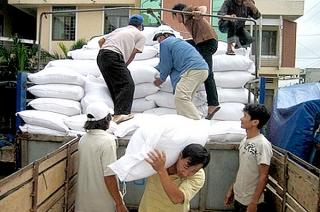 Xuất cấp gạo dự trữ quốc gia cho 3 tỉnh bị thiên tai, mưa lũ