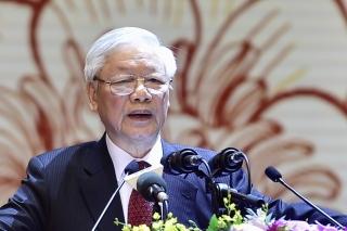 Phát biểu của Tổng Bí thư, Chủ tịch nước tại lễ kỷ niệm 90 năm Ngày truyền thống MTTQ Việt Nam