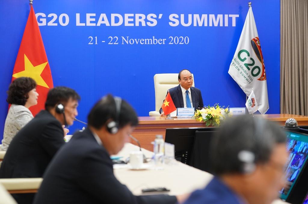 thu tuong bat dau du hoi nghi thuong dinh g20