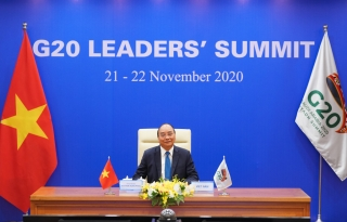 Thủ tướng nêu vấn đề hợp tác về vacine COVID-19 tại Hội nghị G20
