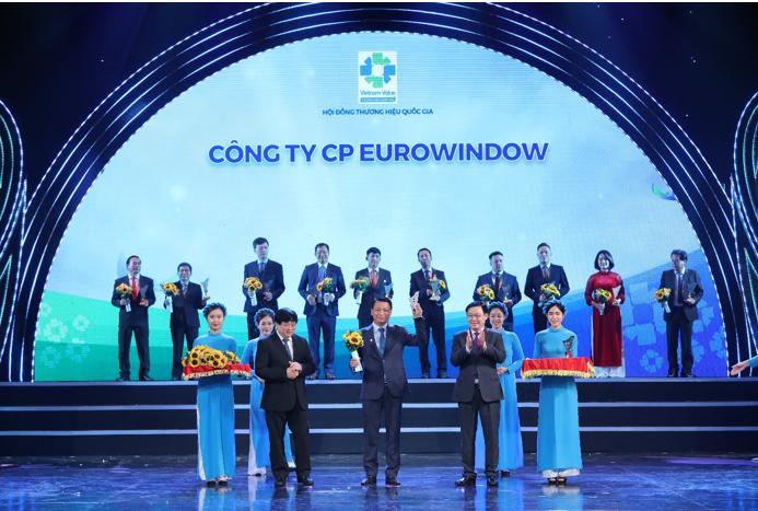 Eurowindow – Tự hào 5 lần liên tiếp được vinh danh Thương hiệu quốc gia
