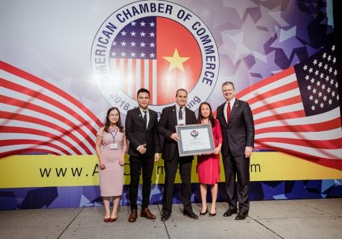 Herbalife Việt Nam nhận giải thưởng trách nhiệm xã hội 2018