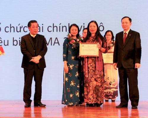 TYM giành cả hai hạng mục giải Doanh nhân vi mô Citi-Việt Nam 2018