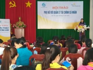 """Sun Life Việt Nam truyền thông về """"Phụ nữ và quản lý tài chính cá nhân"""""""