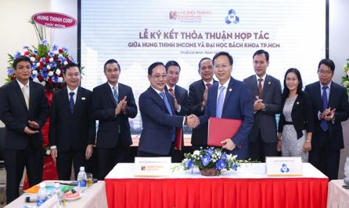 Hưng Thịnh Incons và Đại học Bách khoa TP.HCM hợp tác toàn diện