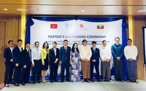 FastGo chính thức ra mắt tại thị trường Myanmar