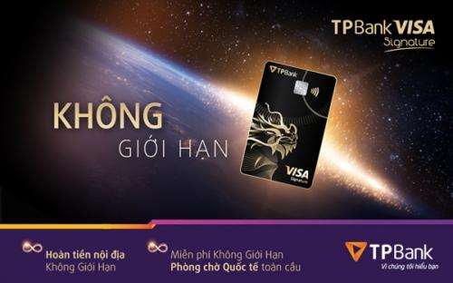 TPBank Visa Signature: Đặc biệt làm nên khác biệt