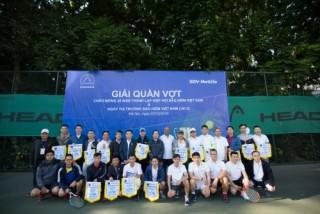 BIDV MetLife tài trợ độc quyền Giải quần vợt giao hữu ngành bảo hiểm