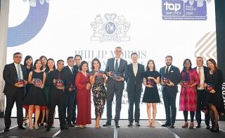 Tập đoàn PMI liên tiếp đạt danh hiệu nhà tuyển dụng hàng đầu toàn cầu