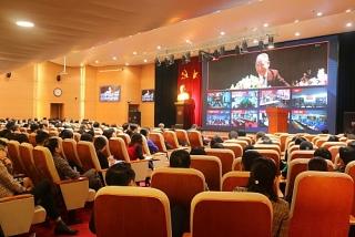 Hội nghị triển khai chuyên đề học tập và làm theo tư tưởng, đạo đức, phong cách Hồ Chí Minh năm 2020