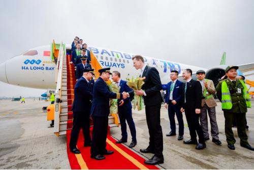 Bamboo Airways chính thức khai thác máy bay thân rộng
