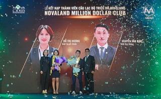 2 thành viên đầu tiên của Novaland Million Dollar Club