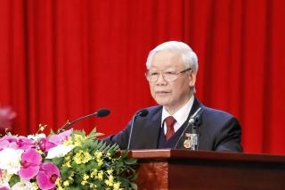 Tổng Bí thư, Chủ tịch nước Nguyễn Phú Trọng: Đưa đất nước tiếp tục vươn lên mạnh mẽ