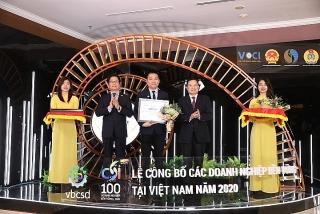 Herbalife Việt Nam tiếp tục được vinh danh Top 100 doanh nghiệp bền vững Việt Nam