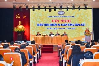 Hội nghị triển khai nhiệm vụ Ngân hàng năm 2021