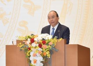 Thủ tướng Nguyễn Xuân Phúc: Không để xói mòn các yếu tố nền tảng vĩ mô đã dày công gây dựng
