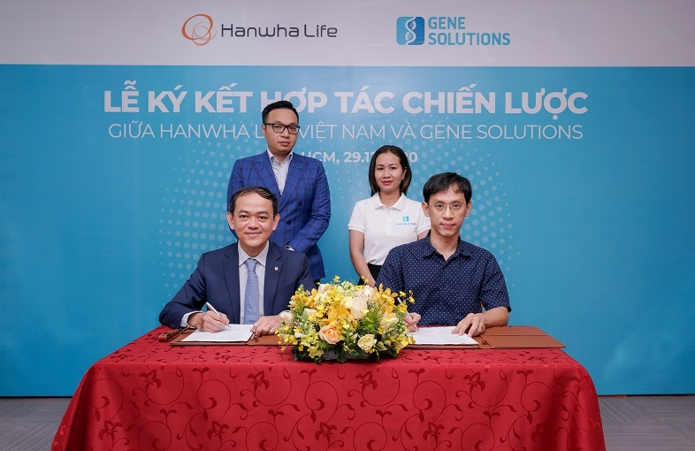 hanwha life viet nam ky hop tac chien luoc cung lotte finance va gene solution