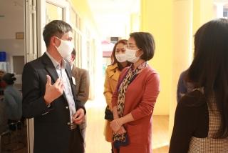Tết thêm yêu thương tại Trung tâm Bảo trợ xã hội II Hà Nội