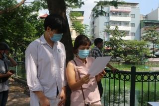 Sĩ tử cả nước vượt buổi thi tốt nghiệp THPT Quốc gia 2021 đầu tiên