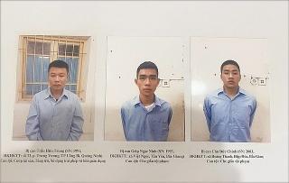 Truy tố đối tượng cướp Ngân hàng Techcombank chi nhánh Sóc Sơn
