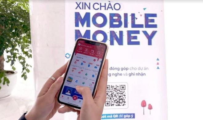 mobile money huong toi doi tuong chua duoc tiep can dich vu tai chinh