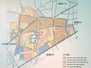 TP.HCM: Điều chỉnh quy hoạch chi tiết xây dựng khu dân cư Phú Lâm