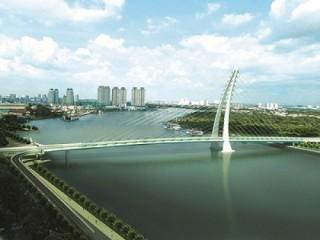 TPHCM: Động thổ xây dựng cầu Thủ Thiêm 2