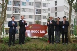 Hà Nội: Khánh thành Khu nhà ở xã hội Đặng Xá