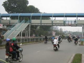 Hà Nội sẽ xây cầu cho người đi bộ tại Nghi Tàm