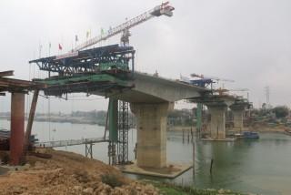 Cầu Việt Trì mới dự kiến sẽ hoàn thành vào 19/5/2015