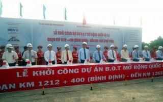 Thay BQLDA để quản lý dự án mở rộng QL1 đoạn qua Bình Định, Phú Yên