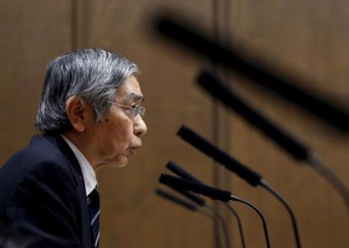 Thống đốc BOJ Kuroda: Lợi suất toàn cầu tăng không kích hoạt tăng lãi suất