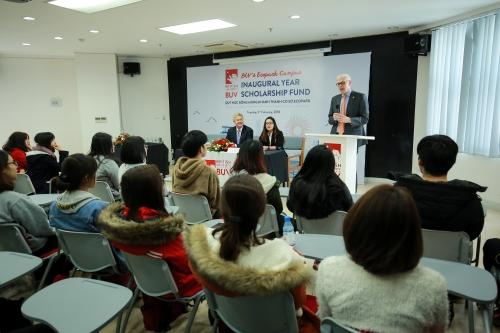 Đại học Anh Quốc Việt Nam công bố quỹ học bổng trị giá 34 tỷ đồng