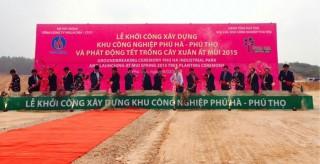Viglacera khởi công xây dựng KCN Phú Hà