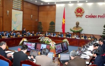 Hôm nay Chính phủ họp phiên thường kỳ tháng 2/2015