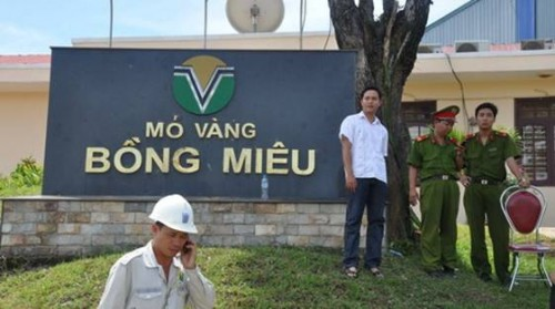 Sẽ cưỡng chế nếu vàng Bồng Miêu không nộp thuế theo quy định