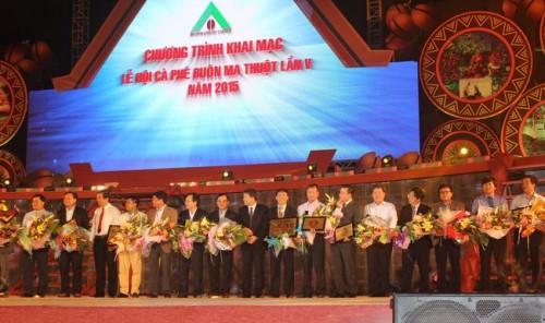 Vietcombank đồng hành cùng Lễ hội cà phê Buôn Ma Thuột năm 2015