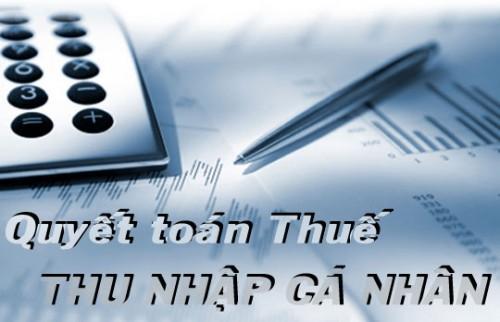 Quyết toán thuế TNCN năm 2014: Một số điểm lưu ý khi thực hiện