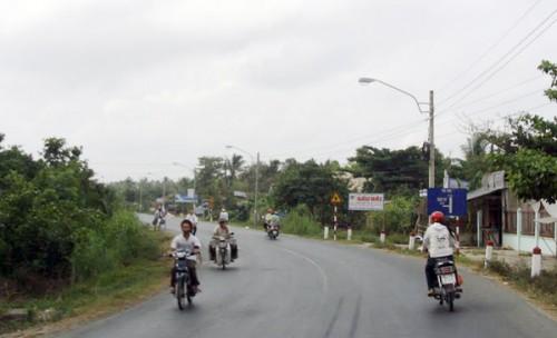 Đầu tư nâng cấp quốc lộ 53 đoạn Long Hồ - Ba Si theo hình thức BOT