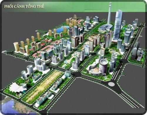 """Hà Nội: """"Thúc"""" tiến độ xây dựng Khu đô thị Tây Hồ Tây"""