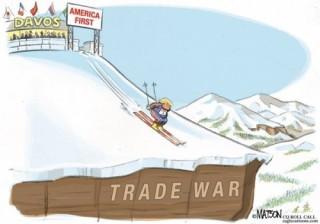 Nguy cơ về một cuộc chiến tranh thương mại sau khi Cohn từ chức