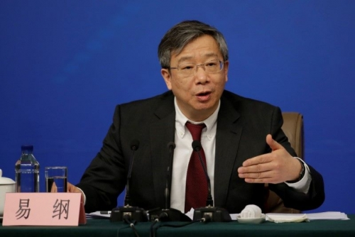 NHTW Trung Quốc có Thống đốc mới
