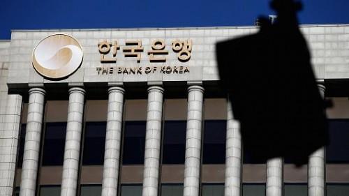 """NHTW Hàn Quốc """"đóng băng"""" lãi suất ở mức thấp kỷ lục 1,75%"""