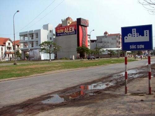 59 tỷ đồng xây dựng hạ tầng khu đất đấu giá huyện Sóc Sơn