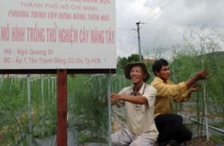 Huyện Củ Chi, TP.HCM được công nhận đạt chuẩn nông thôn mới năm 2015