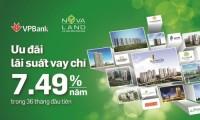 VPBank cho vay tối đa 85% giá trị căn hộ dự án Novaland